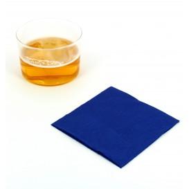 Serviette Papier à Cocktail 20x20 Bleu (100 Unités)