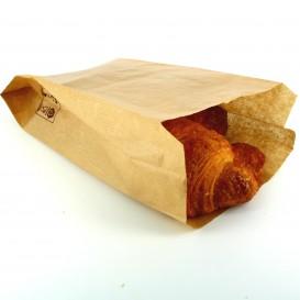 Sac Papier Kraft 14+7x24cm (100 Unités)