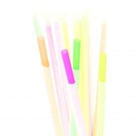 Pailles Emballées Fluorescentes Ø6mm 20cm (10.000 Utés)