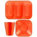 Vaisselle Jetable X-table Orange